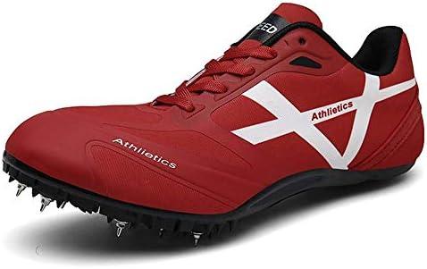 GLEYDY Zapatillas de Atletismo para Hombre 8 uñas Zapatillas de Atletismo Zapatillas de Entrenamiento Deportes para Correr en la Competencia Zapatillas para Correr Profesionales,004,42EU: Amazon.es: Deportes y aire libre
