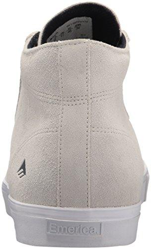 Herren Skateschuh Emerica Indicator High Skateschuhe White/white