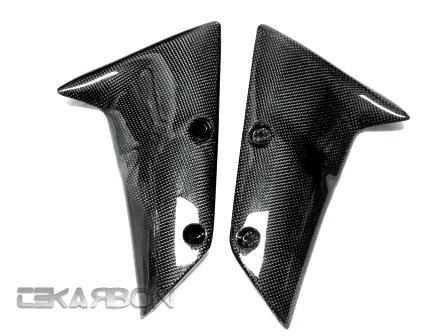 2004-2007 Kawasaki ZX10R 05-08 ZX6R Carbon Fiber Front Fender Twill
