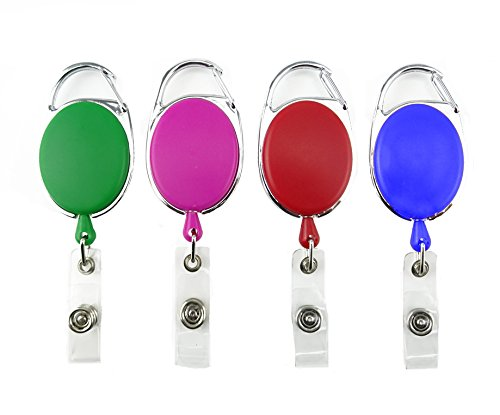 yueton Different Retractable Carabiner Holders