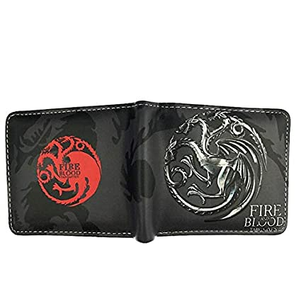 SWVV Juego de Tronos Wallet House Stark/House Targaryen ...
