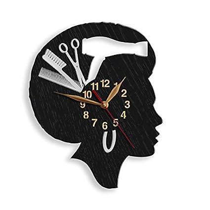 Amazon.com: Monastar - Reloj de pared para mujer, diseño de ...