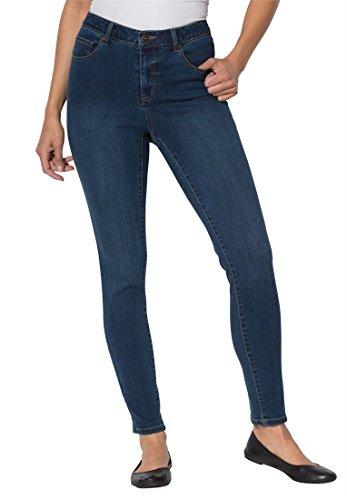 Petite Woven Jeans - 5