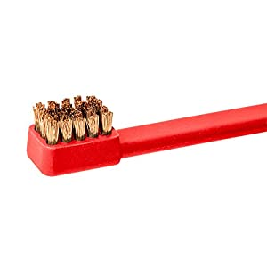 Real Avid Smart Brushes: Next Generation Gun Cleaning Nylon and Bronze Brushes with Four Unique, Firearms Specific Contours and Non-Marring Gun Detailing Carbon Scraping Tips (Color: Black)