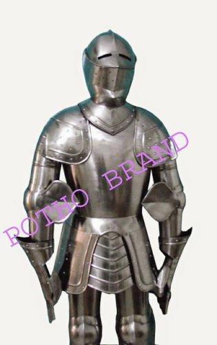 PORTHO Full Knight Trait of Armor 15th Century Combat - Traje de ...