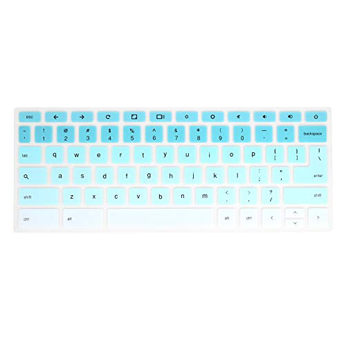 Keyboard Cover Compatible Acer 11.6 C740 C720 C720P Chromebook/Acer Chromebook 11.6 CB3-111 /Acer 13.3 Chromebook C810 CB5-311 [Not Fit for Acer R11 R13 Chromebook] (Mint Green)