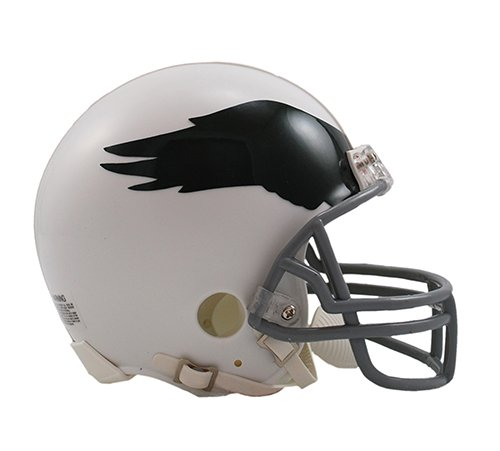 (Philadelphia Eagles 1969-73 Throwback NFL Riddell Replica Mini Helmet)