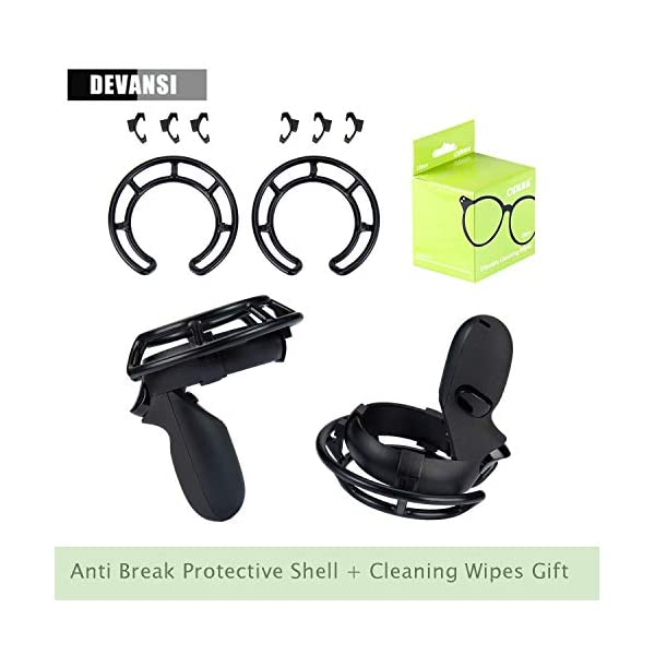 1 Pair Anti Break Shell Protective Frame for Oculus Quest & Oculus Rift Controllers Collision Protection 1