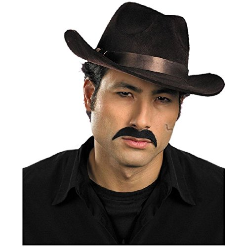 Gangster Mustache Moustache Costume Accessory Adult Halloween