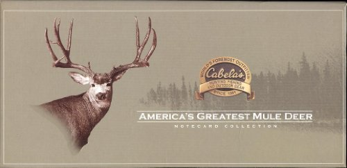 America's Greatest Mule Deer Notecard Collection -