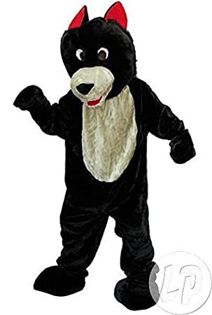 Disfraz de lobo peluche mascota Traje adulto XXL: Amazon.es ...