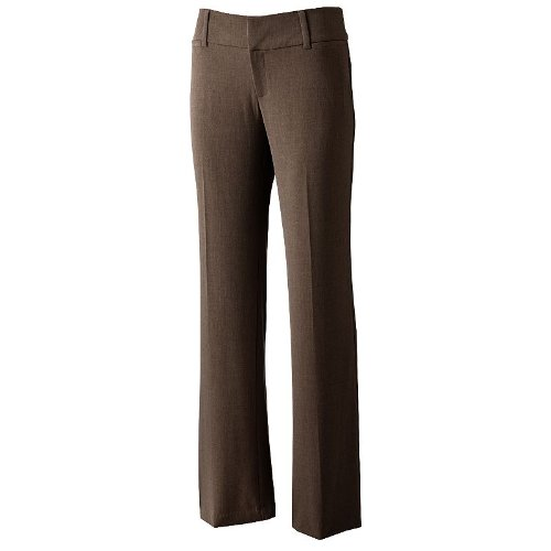 Women's AB Studio Milan Straight-Leg Dress Pants (10L), used for sale  Delivered anywhere in USA