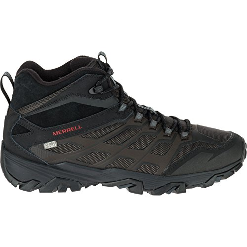 Merrell Moab Low-Profile FST Ice + Thermo Men's Walking Boots, Black, (Merrell Walking Boots)