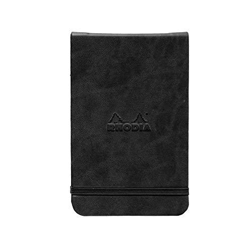 Rhodia Black Webnotepad 3.5X5.5 Dot