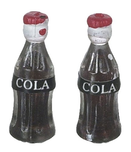 - Dollhouse Miniature Pop Bottles Set of 2