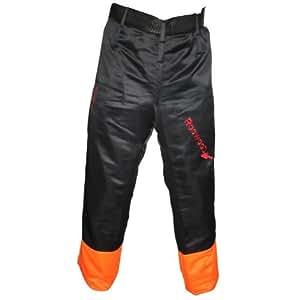 RocwooD - Pantalones protectores para motosierra (cintura de 83,8 a 101,6 cm)