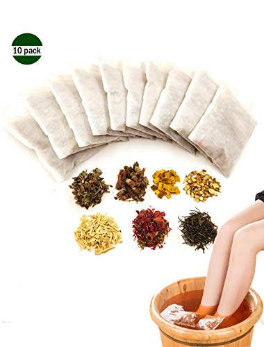 Foot Soak Chinese Herbs Foot Both Athletes Foot Anti fungal Wellness Relaxation 10 Packs
