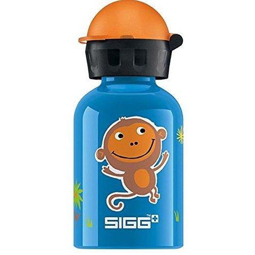 (Sigg Jungle Monkey Water Bottle for Kids, 0.3 Liter -- 6 per case.)