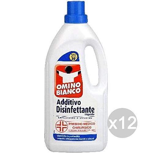 Omino Bianco Juego de 12 aditivo desinfectante Líquido ML 900 ...