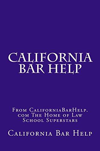 California Bar Help: e law book