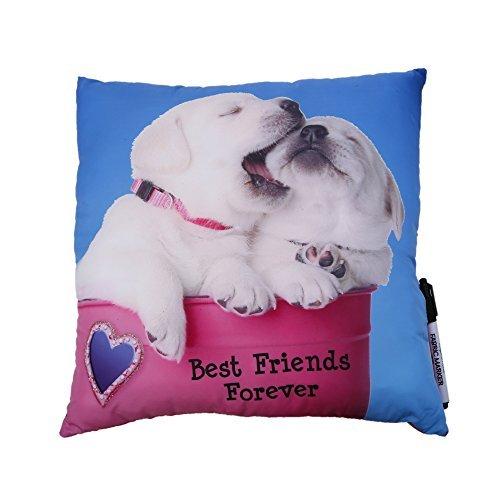 Camp Autograph Pillows Dogs Autograph Friends Forever