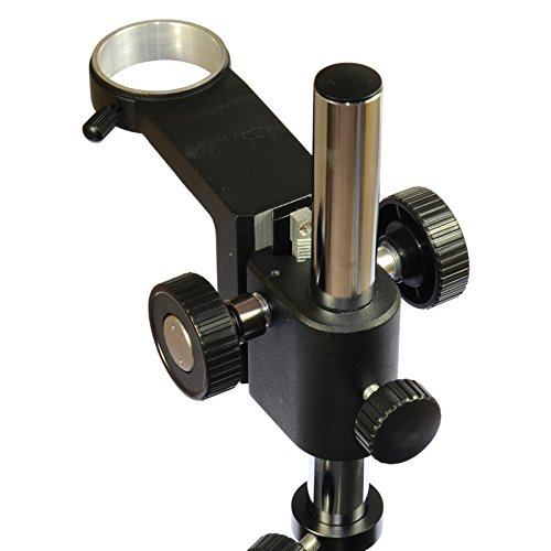 Big Heavy Duty Metal Boom Stereo Microscope Camera Table Stand Holder 50mm Ring by hayear (Image #2)