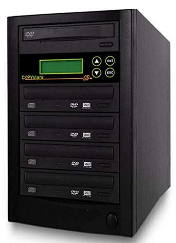 Copystar Stand Copier (Duplicator DVD Copystars Sata Dual layer Dvd Burner CD-DVD-Copier Burner Duplication Tower)