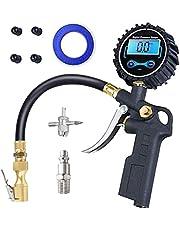 RUIZHI Digitale bandenpompmeter Bandenspanningsmeter Heavy-duty luchtcompressoraccessoires met led-display voor auto-motorfietsvrachtwagen