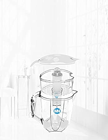 Amazon Com Mesonose 8 Cup Water Pitcher With 1 Filter Nsf
