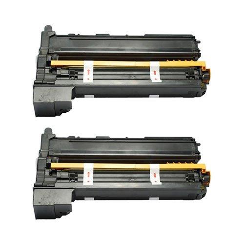 Image of Amsahr 1710580-001 Minolta 1710580-001, 5430DL Remanufactured Replacement Toner Cartridge with Two Black Cartridges