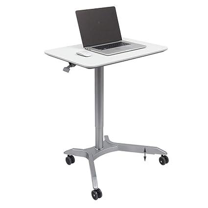 Folding table ZHIRONG - Carrito de Escritorio para Ordenador portátil, Mesa de Oficina, Altura