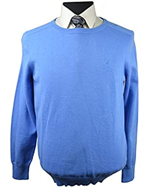 Men's Light Blue Solid Regatta Sweater