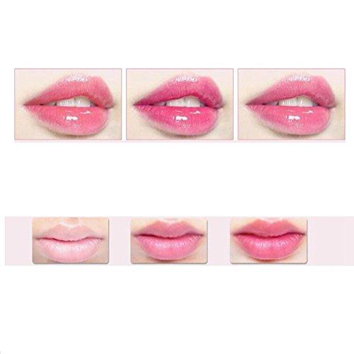 SaiDeng Essence Jelly Lip Gloss Lipstick Nonstick Temperature Change Moist Lip Balm #04