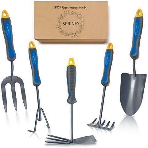 Amazon Com Hortem 5pcs Garden Hand Tools Set Lightweight