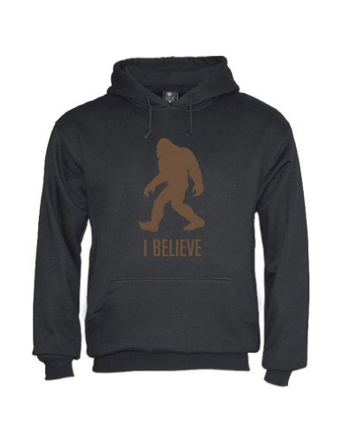 Green Turtle - Bigfoot Black Large Hoodie