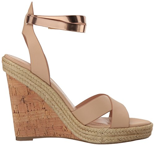 by Women's Sandal Nude David Gold Brit Wedge Charles Charles w7xYq