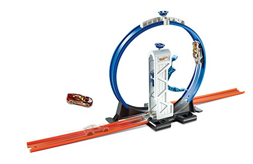 - Hot Wheels Track Builder Loop Launcher Playset