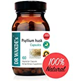 DR WAKDE'S® Psyllium husk Capsules I 100% Herbal I 60 Veggie Capsules I Ayurvedic Supplement I FREE SHIPPING on multiples I Quantity Discounts I Same Day Dispatch