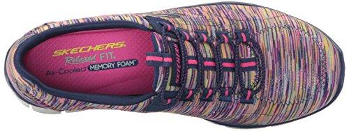 Skechers Damen Sport Empire - Rock um Relaxed Fit Fashion Sneaker Navy / Multi