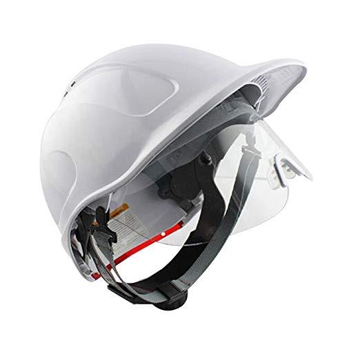 ゴーグルと建設用ヘルメット 調整可能なABSアンチスマッシングプロテクティブヘルメット ハード帽子 EN397に従って、 地震救助防災安全ヘルメット