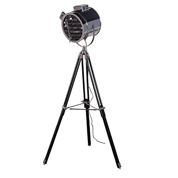 Spotlight tripod floor lamp three legged amazon kitchen home mozeypictures