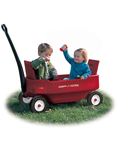 Radio Flyer 2700 Pathfinder Wagon, Red (Discontinued by manufacturer) (Flyer Storage Radio Plastic)