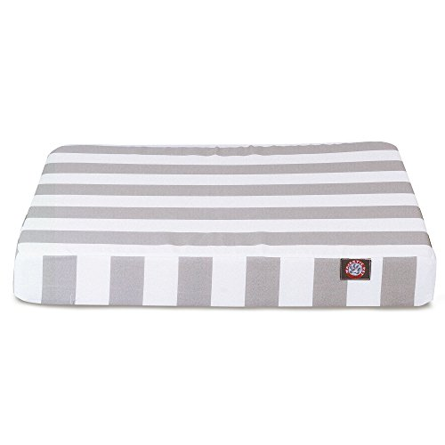 Majestic Pet Products Orthopedic Memory Foam Vertical Stripe