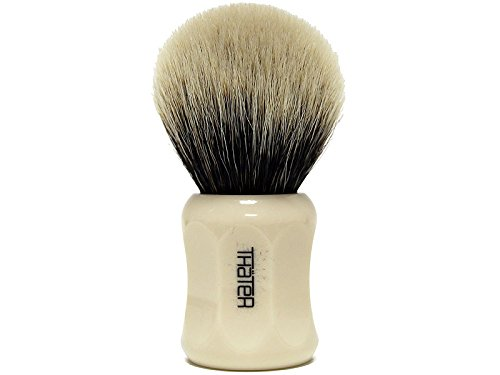 Thater 4125/2 Finest 2-Band Silvertip Bulb Shaving Brush