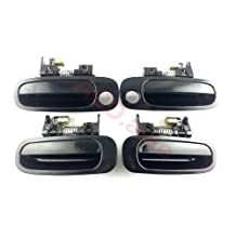 1998-2002 toyota corolla Outside Door Handle Front Rear Left Right 4PCS 3094-2-3