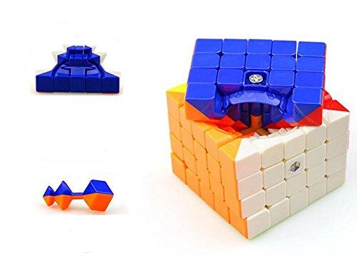 Cuberspeed YuXin Cloud 5x5 stickerless Magic cube 5x5x5 Stickerless puzzle
