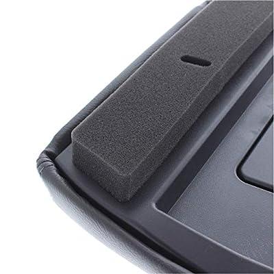 EcoAuto Center Console Lid Replacement Kit for 99-07 Silverado, Avalanche, Suburban, Sierra, Yukon - Replaces OEM 19127364, 19127365, 19127366 - Dark Gray: Automotive