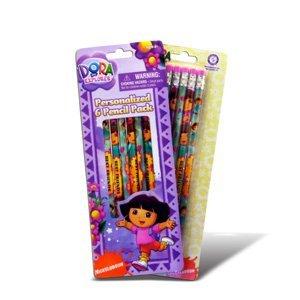 For Kids School Supplies – Dora 6パック鉛筆 B002LUV5K6