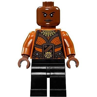 LEGO Marvel: The Black Panther - Okoye Dora Milaje Minifigure 2020: Toys & Games