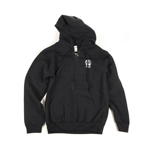 Universal Sportswear Animal Hooded Zipper Sweatshirt S